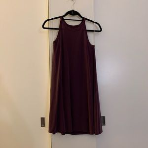 Alya | Maroon Dress